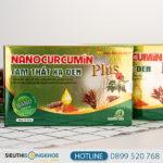 Nano Curcumin Tam thất xạ đen Plus HVQY - Hỗ trợ điều trị các bệnh về dạ dày