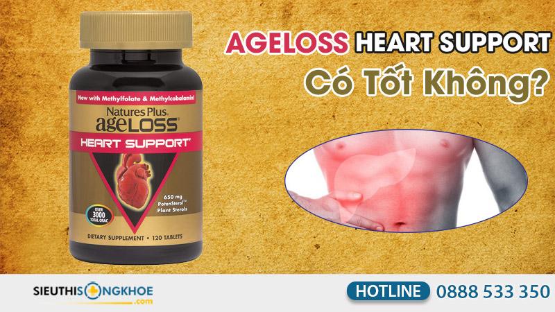 ageloss heart support co tot khong