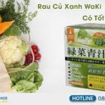 bột rau xanh waki nhật bản có tốt không