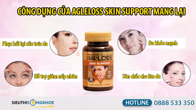 ageloss skin support