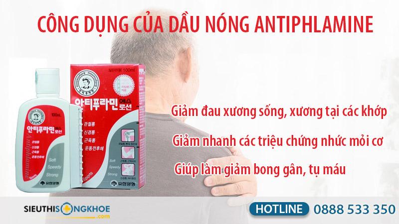 dầu nóng antiphlamine