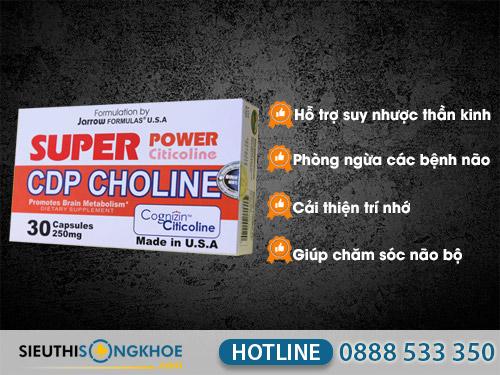 super power cdp choline