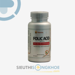 folic acid 400 mcg vitamins for life
