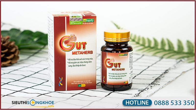 viên giảm đau gut metaherb
