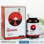 Hatachi Plus - Viên uống hỗ trợ giúp mái tóc khỏe và đen mượt