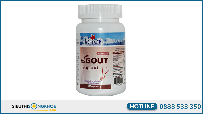 ms gout support