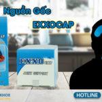 nguồn gốc viên uống exxocap
