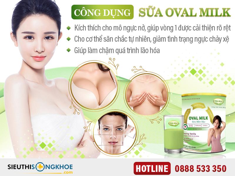 oval milk