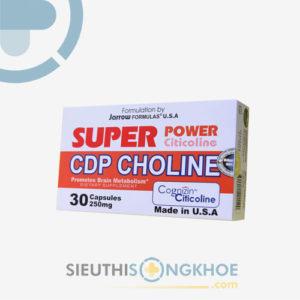 Super Power CDP Choline – Viên Uống Cải Thiện Não Bộ Hiệu Quả