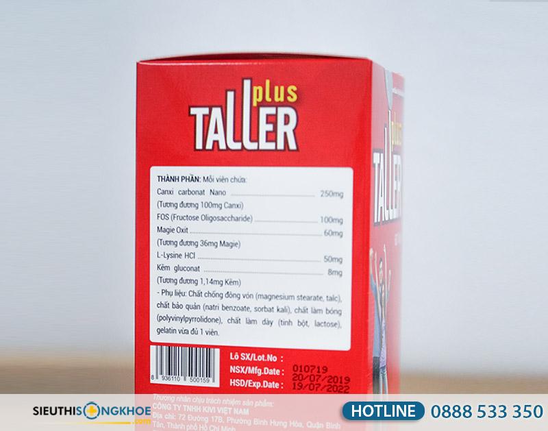 taller plus