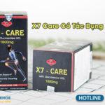 x7 care có tác dụng phụ không
