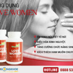 Love Women - Viên Uống Hỗ Trợ Tăng Cường Sinh Lý Nữ