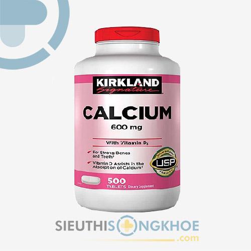 Viên Bổ Sung Canxi Calcium Kirkland - Hỗ trợ giúp Xương Khớp Chắc Khỏe