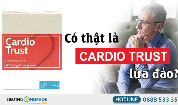 cardio trust lừa đảo
