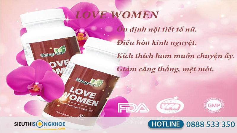 công dụng love women