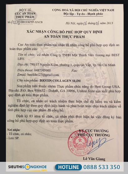 giay-chung-nhan-biotin-collagen-slim
