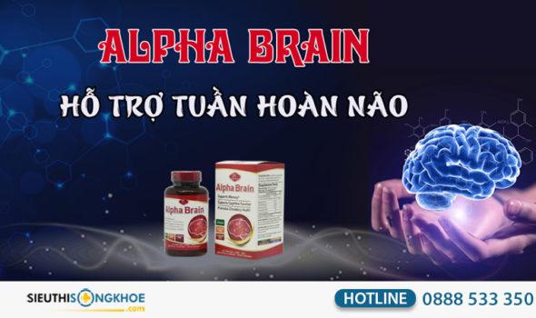 viên bổ não alpha brain có tốt không