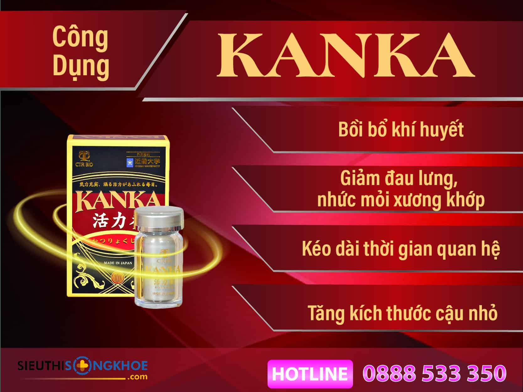 công dụng bổ thận kanka