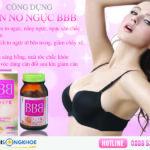 BBB Nhật Bản - Viên Nở Ngực An Toàn - Hiệu Quả - Tự Nhiên
