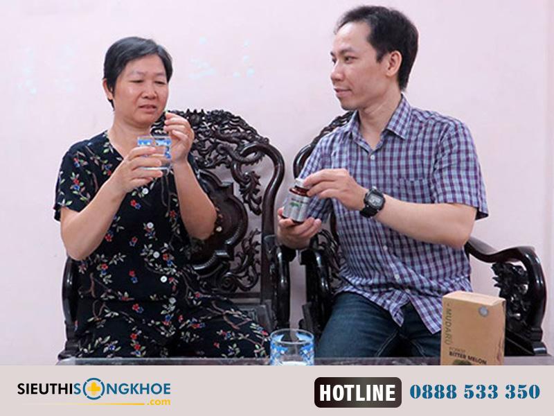 Liệu Trình 3 Hộp Mudaru – Viên Uống Khổ Qua Rừng Tốt Cho Người Bệnh Tiểu Đường
