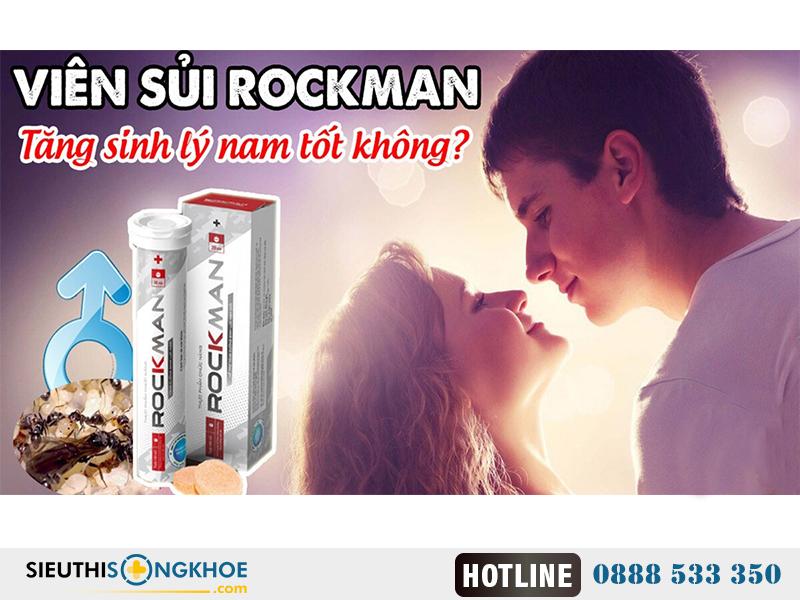Rockman – Tăng Cường Sinh Lý Cho Nam Giới
