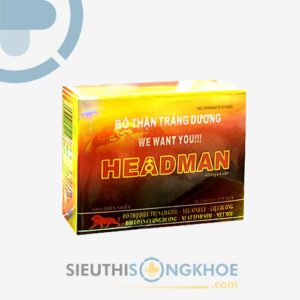 Headman – Viên Uống Bổ Thận, Tăng Cường Sinh Lý