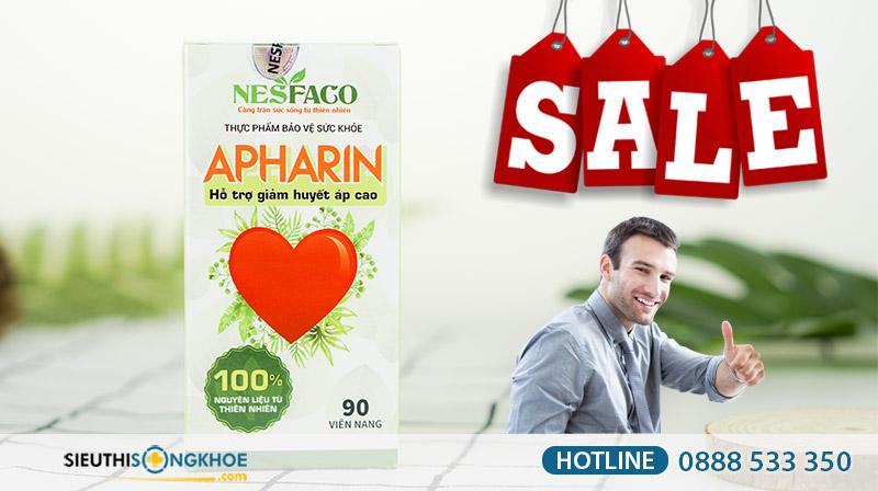 chương trình khuyến mãi sản phẩm huyết áp apharin