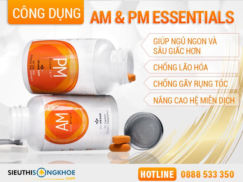 công dụng am pm essentials™