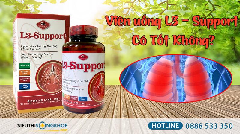 viên uống l3 support có tốt không