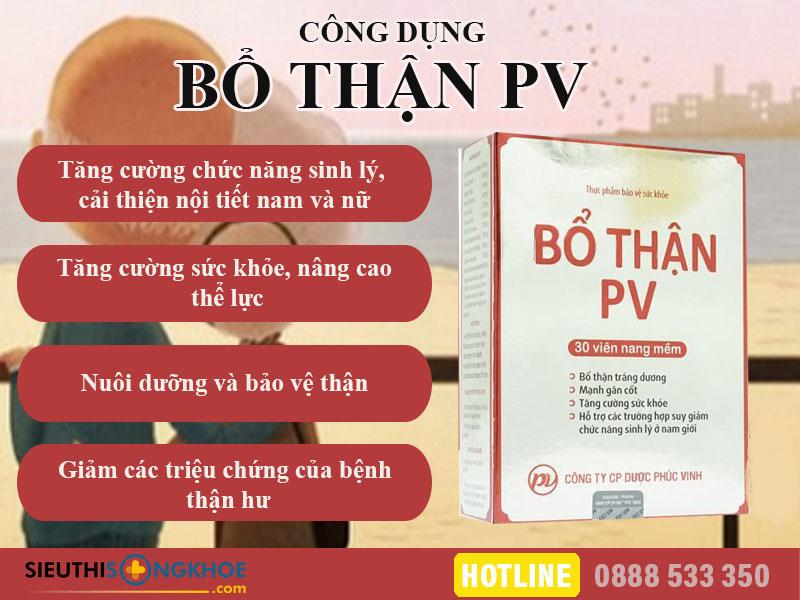 cong dung bo than pv