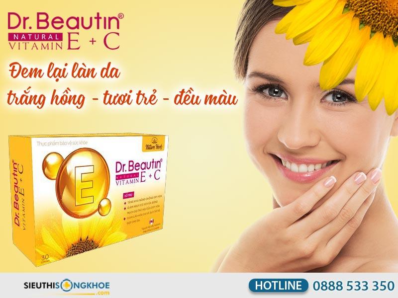 dr beautin vitamin e + c
