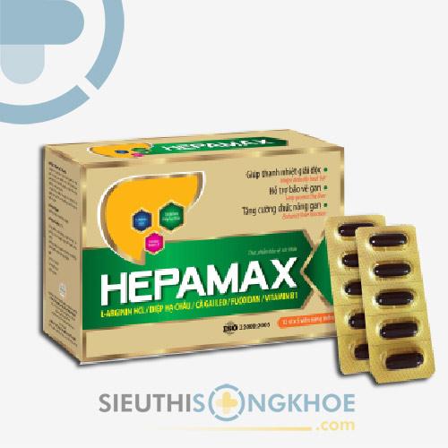 Hepamax 2 Hộp - Viên Uống Hỗ Trợ Giải Độc Gan