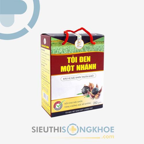 Tỏi Đen Một Nhánh Việt Nam - Ổn Định Mỡ Máu, Tăng Cường Sức Đề Kháng