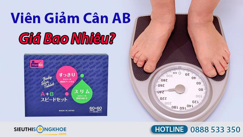 viên giảm cân ab giá bao nhiêu