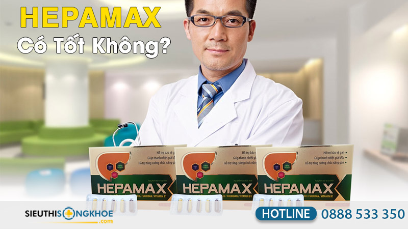 viên uống hepamax có tốt không