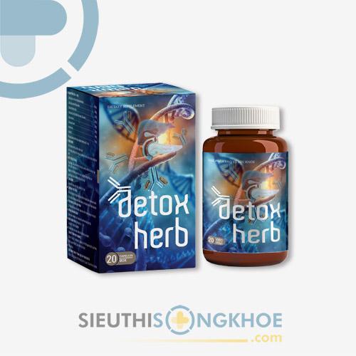Viên uống Detox Herb - Hỗ Trợ Tiêu Diệt Ký Sinh Trùng, Giải Độc & Bảo Vệ Sức Khoẻ