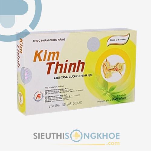 Viên uống Kim Thính - Hỗ Trợ Điều Trị Giảm Thính Lực, Ù Tai, Điếc Tai