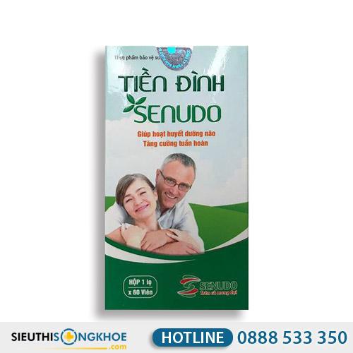 Tiền Đình Senudo - Hỗ Trợ Điều Trị Rối Loạn Tiền Đình