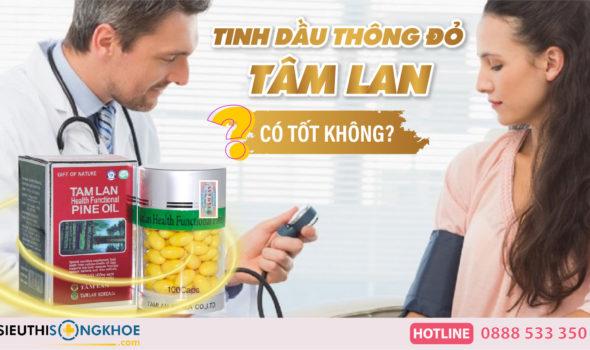 tinh dau thong do tam lan co tot khong