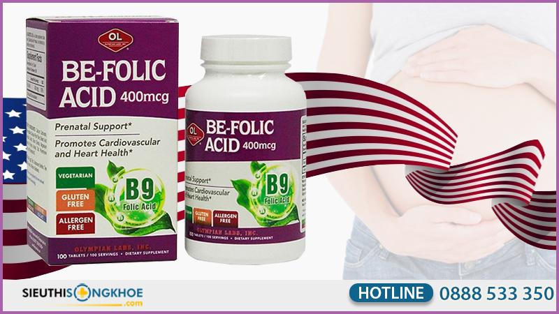 be folic acid 400mcg olympian labs