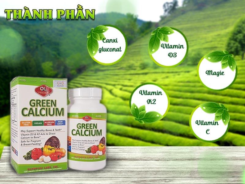 thanh phan vien bo sung canxi green calcium