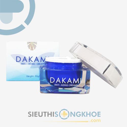 Dakami - Kem Dưỡng Da Từ Sâu bên Trong, Trả Lại Làn Da Không Tuổi