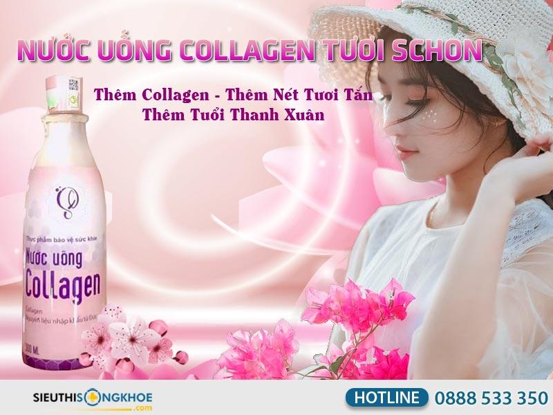nuoc uong collagen schon