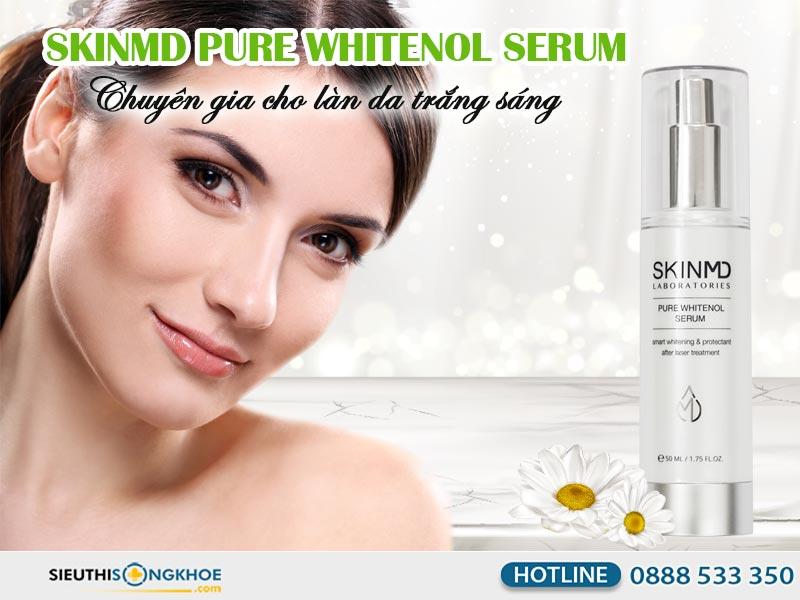 serum giam nam skinmd pure whitenol serum