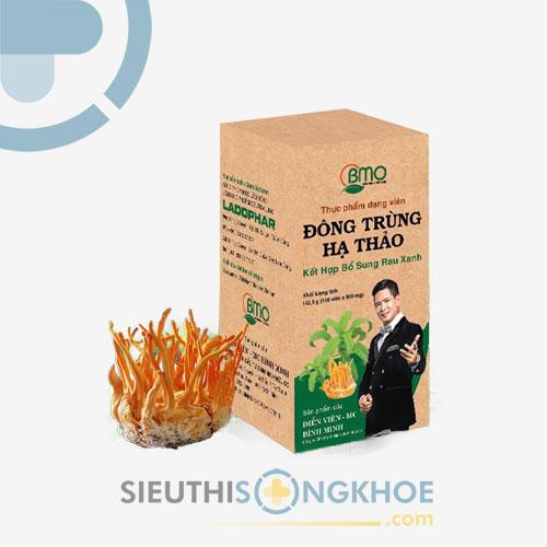 Đông Trùng Hạ Thảo Bình Minh Organic - Giúp Tiêu Hóa Khỏe - Tăng Sức Đề Kháng