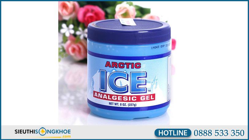 hinh anh arctic ice analgesic gel 1