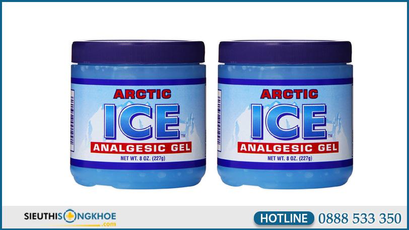 hinh anh arctic ice analgesic gel 2