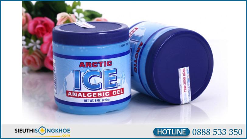 hinh anh arctic ice analgesic gel 3