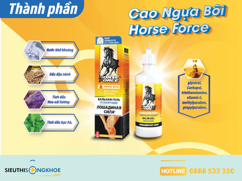 cao ngựa horse force