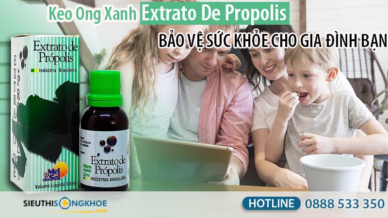 Keo Ong Xanh Extrato De Própolis